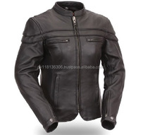Motorbike Leather Jacket for Women- Premium Leather Jacket / Leather
