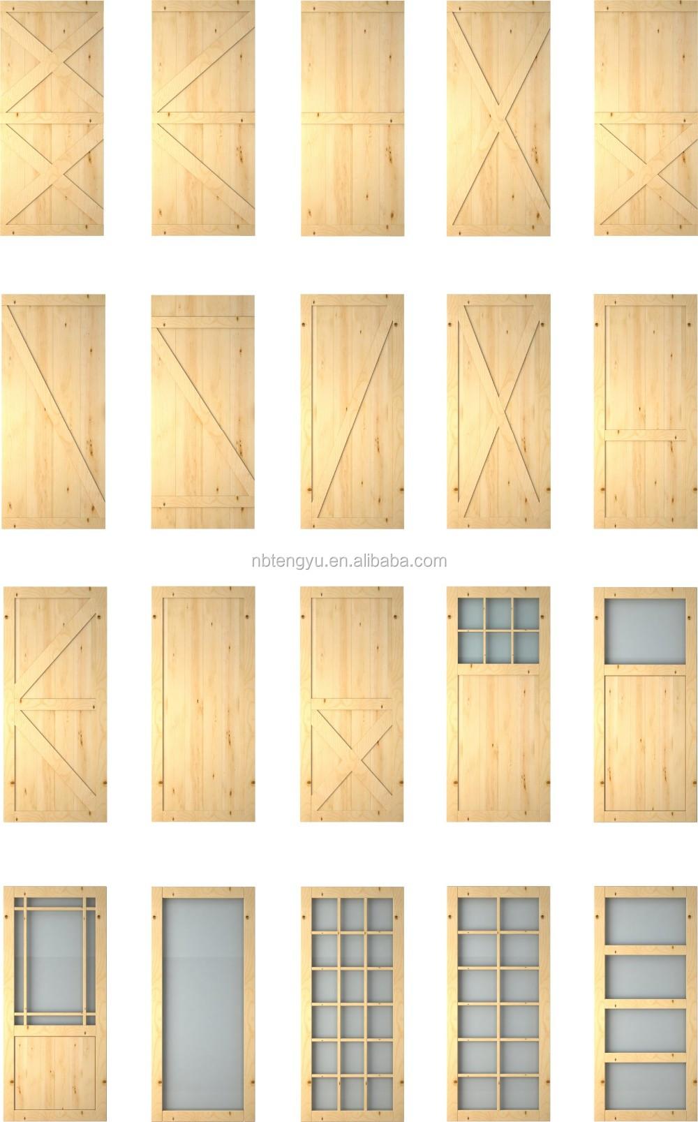 Mirrored doors with black flat track barn door hardwares for Mirrored barn door