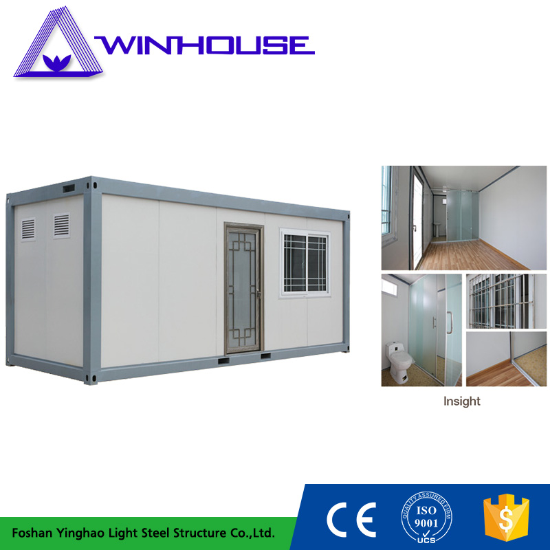 Professional Design Flat Pack Portable 20ft Container