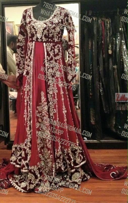 Wedding Gharara Sharara Lehnga by Libbas Pakistan