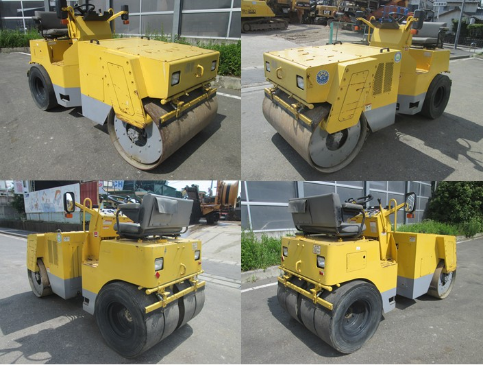 Vibratory Road Roller Machine Sakai TW450 <SOLD OUT>