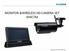 Easy to use and High quality long distance surveillance camera & monitor set with Japan technology