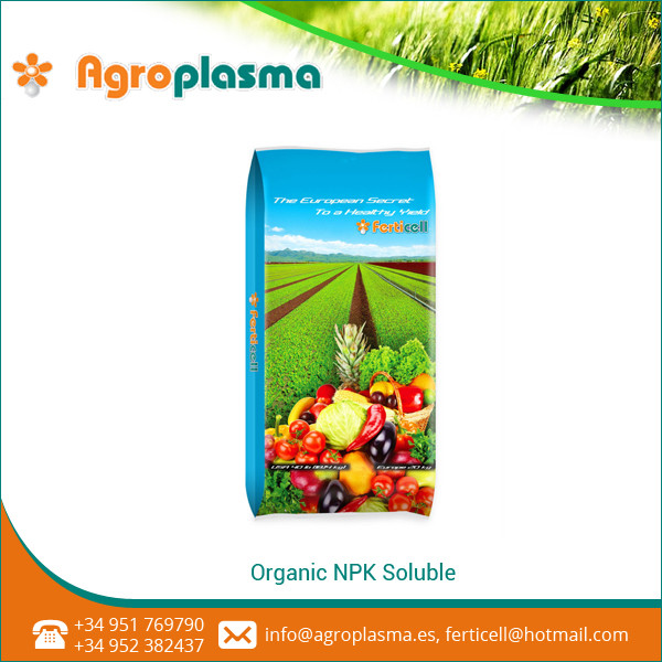 Fast Soluble 100% Organic Fertilizer NPK 13-13-21 from Prominent Supplier
