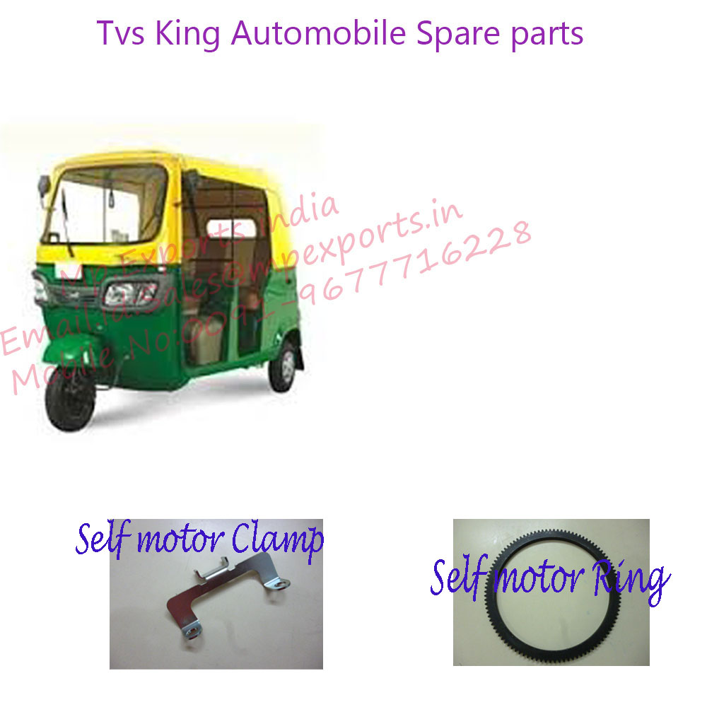 Automotive Spare parts Self motor Clamp & Ring tvs made from india