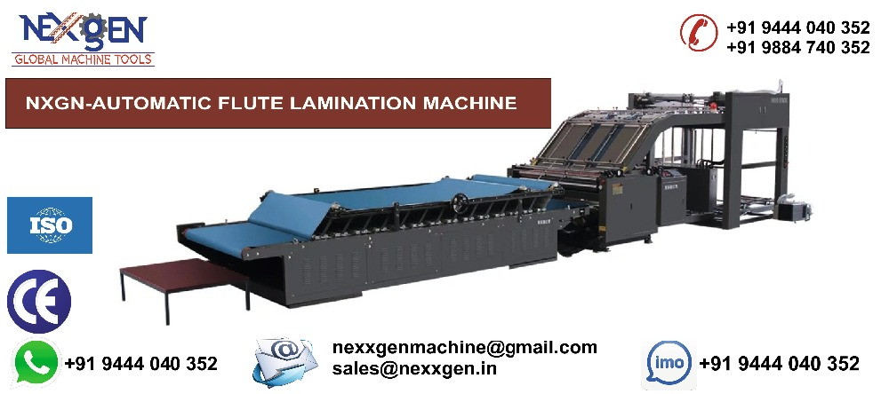 Automatic Flute Lamination Machine For Carton Box Making
