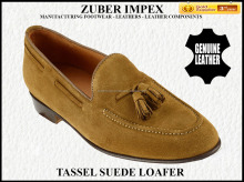 Leather Shoes for Men - Luxury Italian Tassel Leather Loafer - Shoe manufacturer