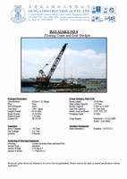 150ton Kobelco Used Floating Crane Barge