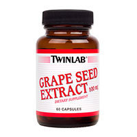 Grape Seed Extract, 100 MG, 60 Caps by Twinlab