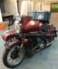 1972 Cossack Ural 650cc With Sidecar & Reverse Gear, MOT Nov 14,