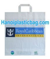 plastic packaging manufacturer in vietnam photo printing side seal soft loop bag with bottom and top fold