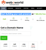 Buy Online Domain, hosting & Emails at affordable Prices