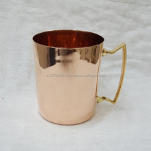 Copper Moscow Mule for drinking beer and coffee