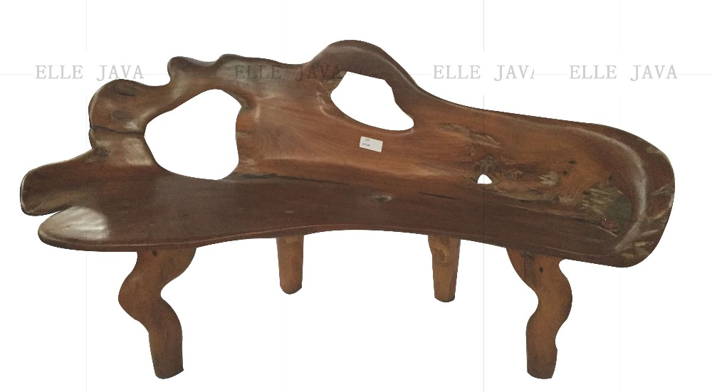 Furniture Teak Root bench 100-120 Outdoor And Indoor Furniture