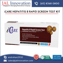 Supreme Quality Result Oriented Hepatitis B Rapid Test from Best Dealer