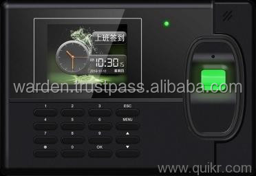 FINGERPRINT ATTENDANCE READER WITH AUTO ADAPT SENSOR