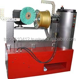 HIGH QUALITY WHEEL POLISHING - GRINDING & CLEANING MACHINE RS1028