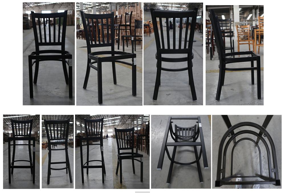 Dg 6q2b 6r6b Cheap Metal Used Restaurant Table And Chair