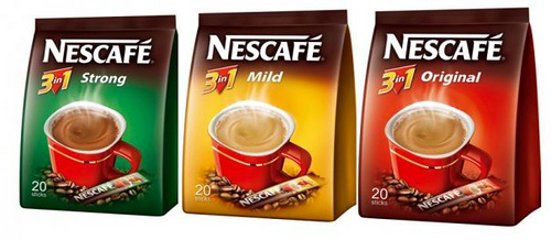 Instant Coffee - 3in1 Strong Flavors Coffee