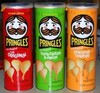 pringles style potato chips 165Gr