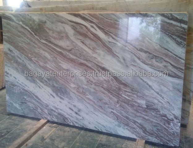 Brushed Finish Marble : Indian fantasy brown marble polished slabs buy