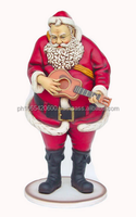 Santa Claus with Guitar. ID:2219