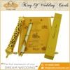 Scroll Wedding Invitation Cards Wholesale Supplier