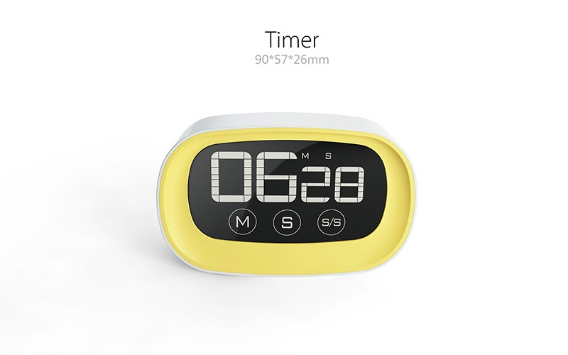 battery 2016 New Digital Touch Screen kitchen timer