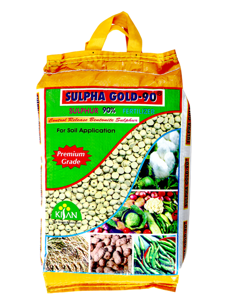 ORGANIC FERTILIZER - SULPHA GOLD 90%