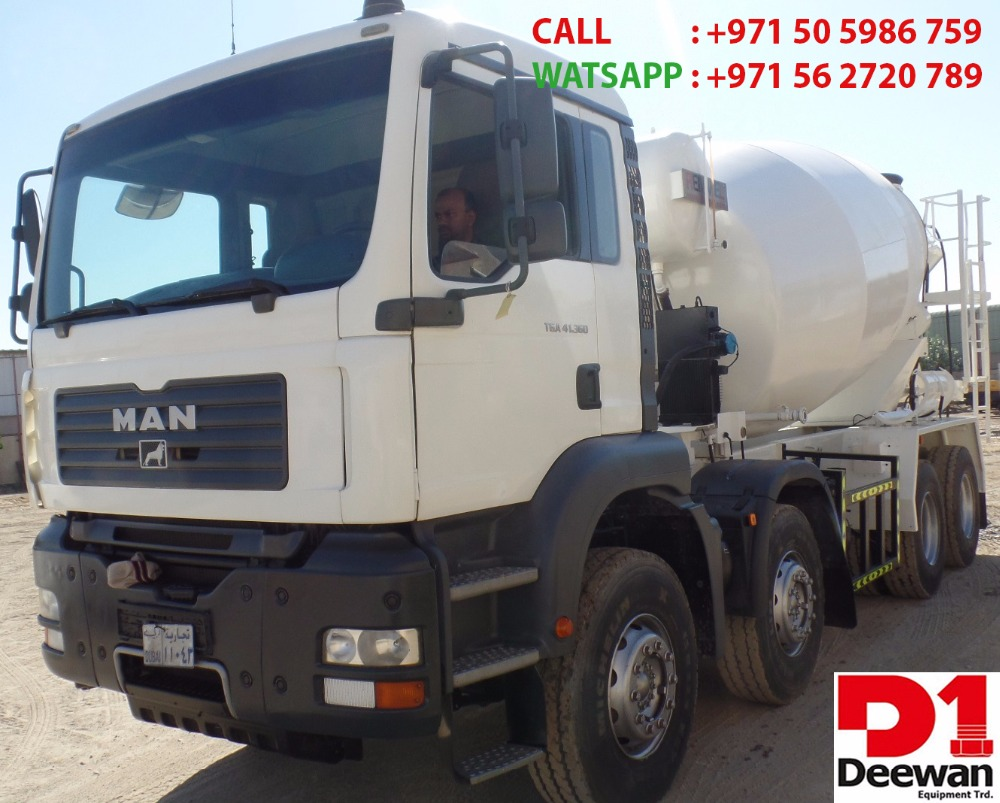 USED TRANSIT MIXER 10cbm FOR SALE IN UAE