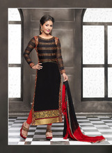 Latest Designer Straight Salwar Kameez