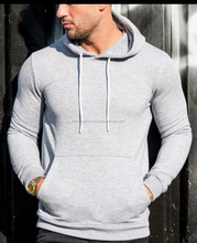 men plain slim fit hoodies,fitted hoodie sweatshirts by Hawk Eye Co.