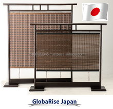 Japanese SUDARE bamboo blind wood screen window blinds made in Japan