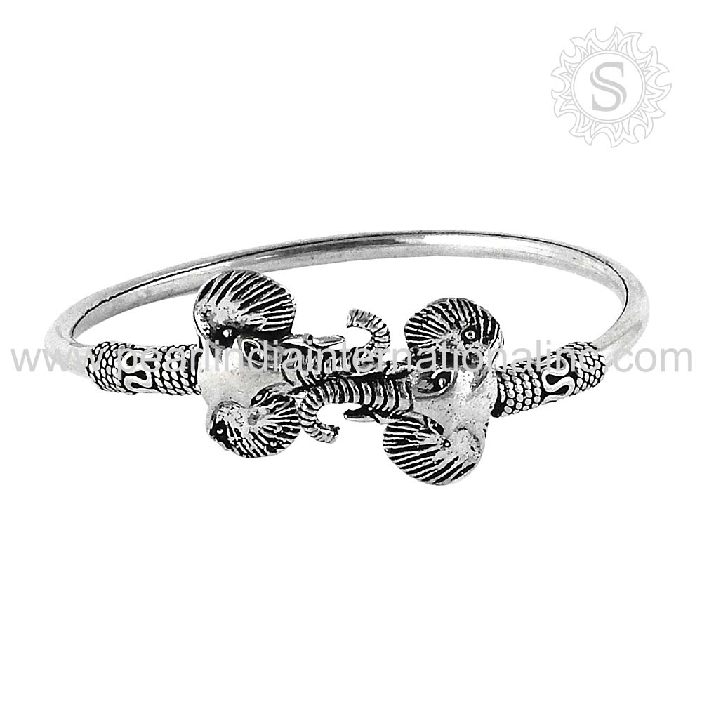 Magnificent 925 Sterling Silver Bangle Timepieces