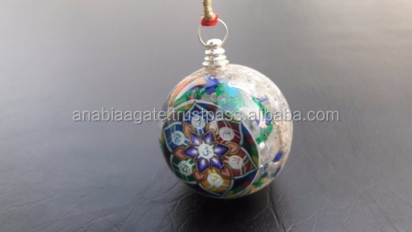Mix Orgone Balls With Copper Coil : Wholesale Orgone Ball