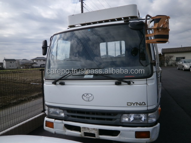 EXPORT FROM JAPAN SECOND HAND RIGHT HAND DRIVE CARS FOR TOYOTA DYNA TRUCK 1997