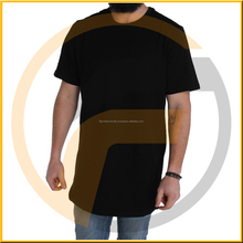 Plus size XXXL men sport casual daily digital printed loose summer O-neck black tall t-shirts wholesale