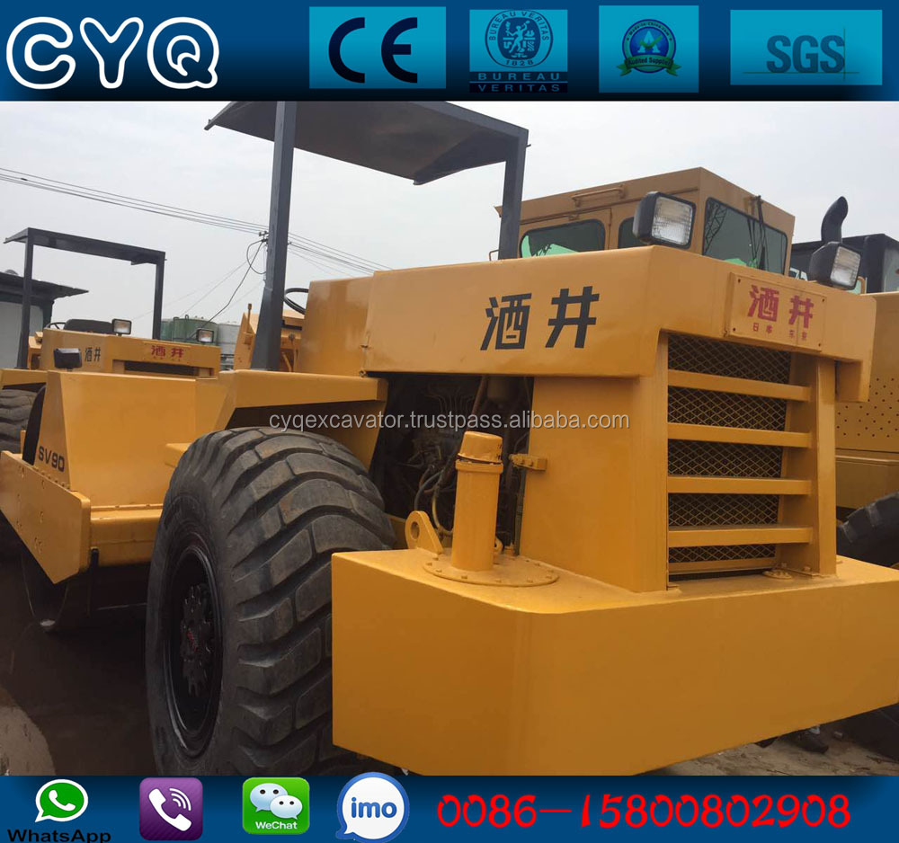 Use Sakai SV90 Road Roller, Japan used vibratory roller Sakai SV90 compactor for sale (whatsapp: 0086-15800802908)