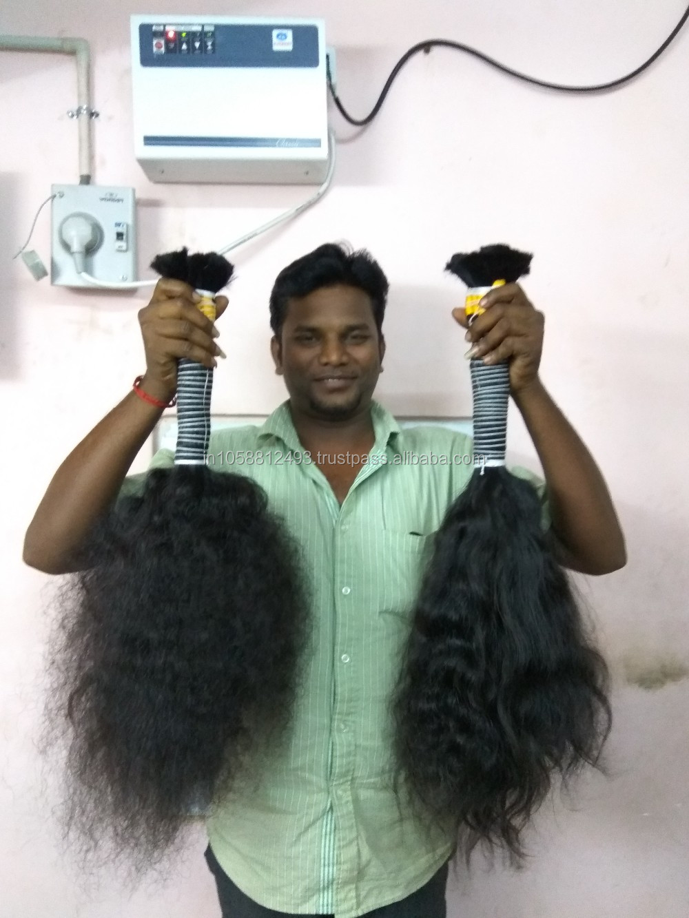 Christmas offer Discount price virgin brazilian hair and indian human hair from Dev hair exports chennai india
