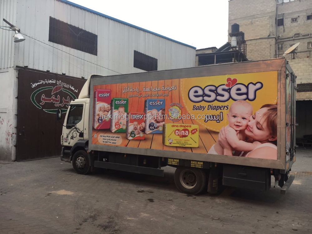 We support our partner with promotional, esser Baby Diaper