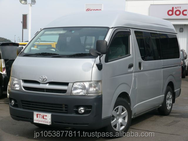 Good looking and Right hand drive used toyota hiace van prices usedHIACE LONG DX 2007