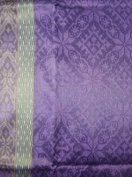 Beautiful Handmade Songket Fabric Traditional Design in Poly Viscose Rayon