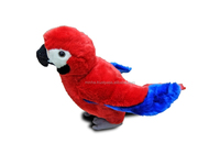 Latest Soft toy Animal Red & Blue Plush Parrot