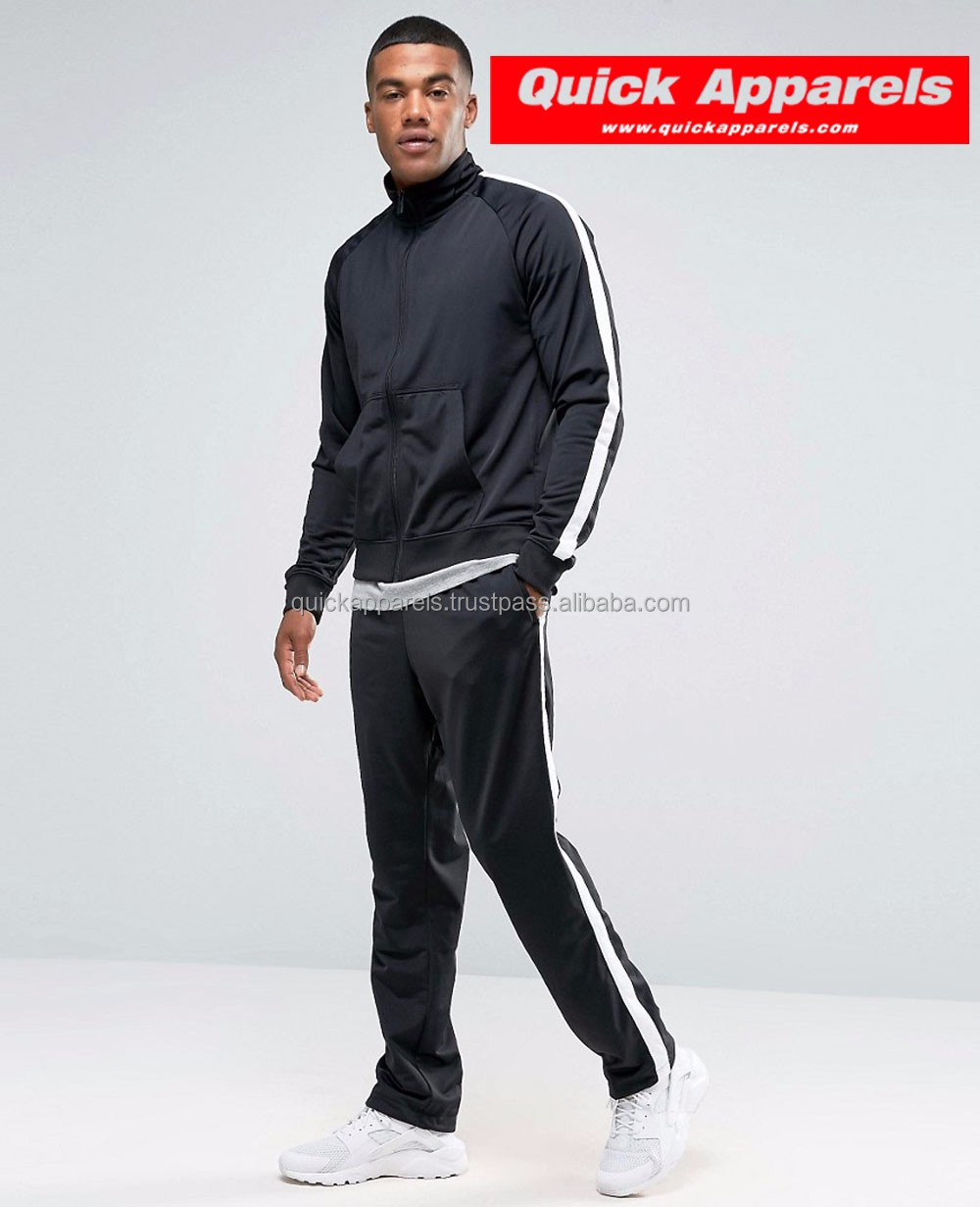 High Quality Men's Custom 100% Polyester Winter Sweat Suit