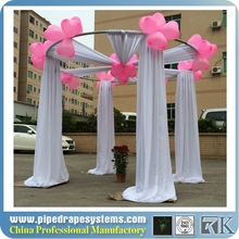 factory cheap wedding backdrop poles/used portable pipe and drape for sale/wedding mandap chuppah