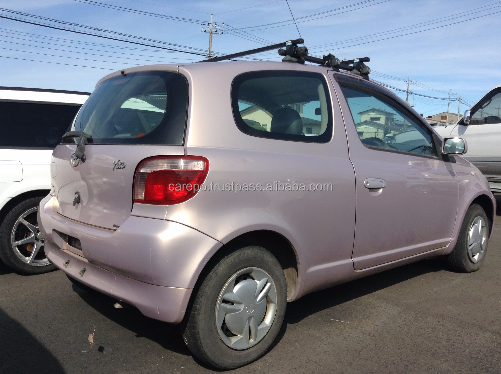 USED JAPANESE VEHICLES FOR TOYOTA VITZ GH-SCP10 2000 AT (HIGH QUALITY)