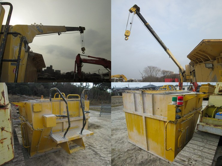 Komatsu BZ200 -1 Soil Stabilizer Machine From Japan <SOLD OUT>