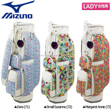 [Ladies golf stand bag] Mizuno golf 5LJC14W10071 Liberty print caddy bag