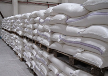 Wheat flour for export
