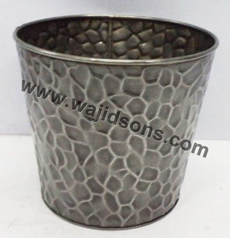 outdoor decoration metal goat flower pot planter