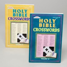CROSSWORD PUZZLE HOLY BIBLE BOOK 2 ASST IN 48 PC COUNTER DSY #19200P